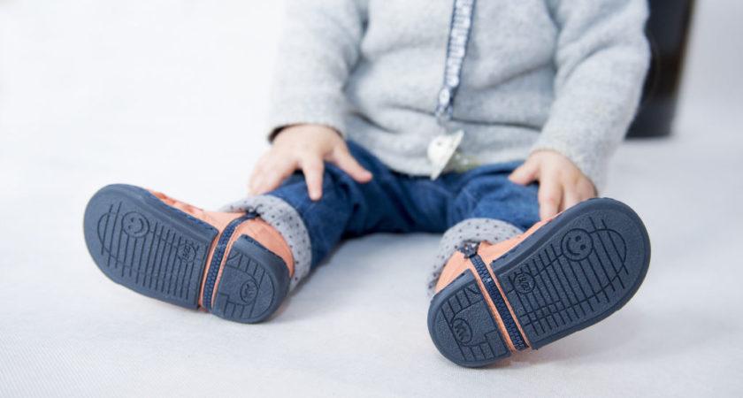 Idealne buty do nauki chodzenia